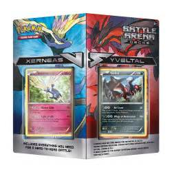 xerneas and yveltal battle arena decks pok 233 mon tcg trading card