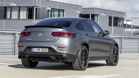Amg glc 63 coupe 4matic+. 2020 Mercedes-AMG GLC 63 S 4MATIC+ Coupe - Rear   HD ...