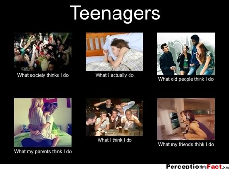 Teenagers Meme - what think i do it