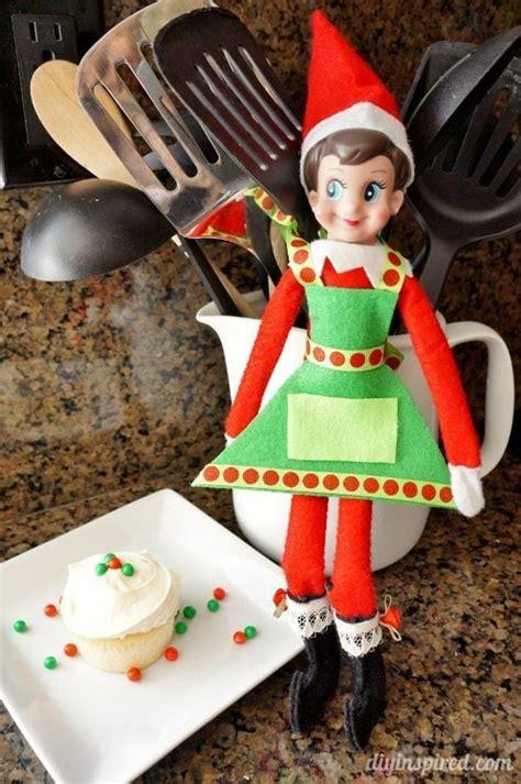 elf   shelf diy cooking apron diy inspired