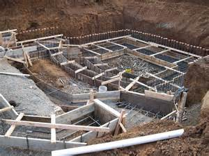 Concrete Footing Foundation