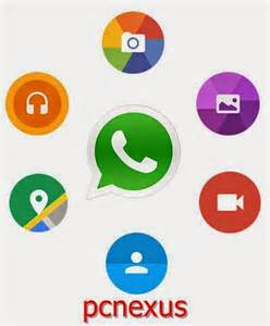 whatsapp design whatsapp for android gets material design with new icons and animations pcnexus