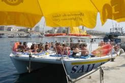 Catamaran Boat Party Limassol by Catamaran For Rent In Cyprus