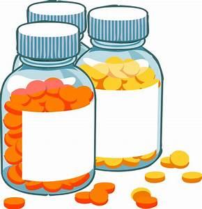 Blank Pill Bottles Clip Art at Clker.com - vector clip art ...