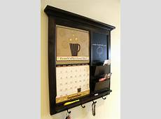 Whiteboard Cork Board Wall Organizer Simple Entryway