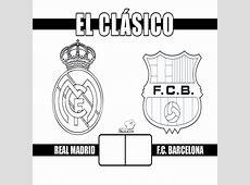 Dibujos Para Colorear Del Escudo Del Madrid