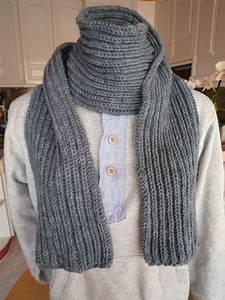 Echarpe Homme Tricot : mod le tricot echarpe laine homme ~ Melissatoandfro.com Idées de Décoration
