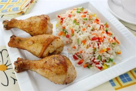 recette plat cuisiné cuisiner un délicieux riz au poulet pour 4 personnes