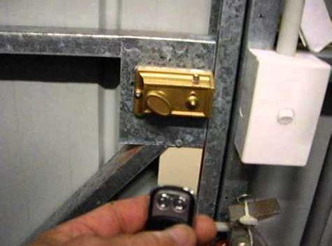 Securing Up And Garage Door by Garage Door Locks