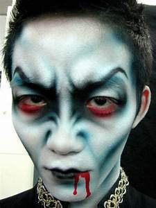 Halloween Makeup – As A Zombie At The Halloween Party ...
