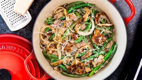easy green bean casserole recipe step  step