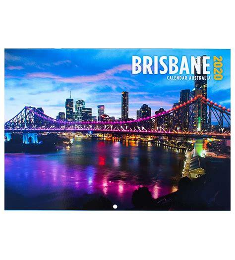 brisbane  calendar australia  gift australian