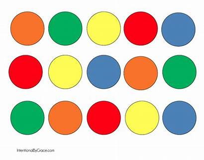 Math Toddlers Activity Easy Counting Printable Circles