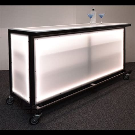 Portable Bar Furniture by Led Lighted Portable Bar Portable Bars For Special Events