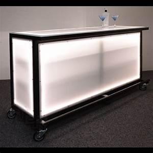 Led, Lighted, Portable, Bar