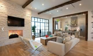 moderne bilder fã rs wohnzimmer white brick wall living room design home interiors