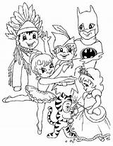 Carnival Coloring Print Pages sketch template
