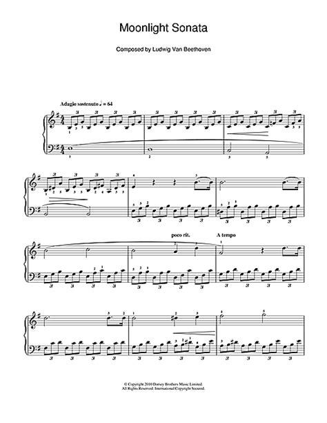 Moon Light Sonata by Moonlight Sonata Mondscheinsonate Movement Op 27