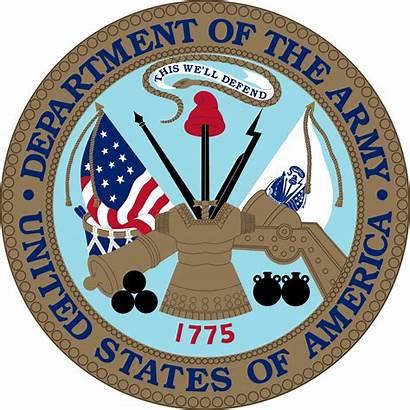Army Military Symbols Emblem States United Seal