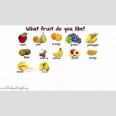 What Fruit Do You Like? Youtube