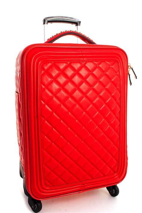 BXC7179-N RED Fashion Large Travel Luggage