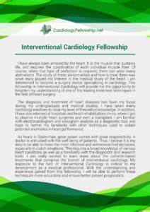 Best cardiology fellowship personal statement essays on fast