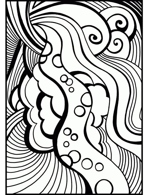 abstract  teenagers coloring page  printable coloring pages  kids