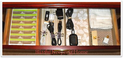 Blissful Keeper At Home Entry Table Drawer Organized