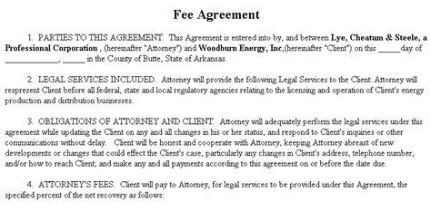 fee agreement gtld world congress