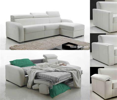 canapé lit promo canapé d 39 angle réversible et convertible lit 160 cm promo