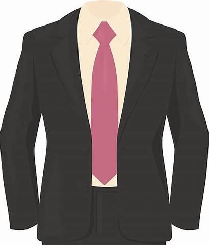 Suit Shirt Pink Grey Vector Clip Smart