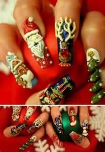 Christmas d beats nail art designs she girls beauty salon