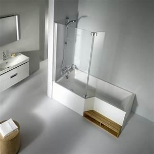 fiche produit de la salle de bains bain douche With douche et baignoire dans salle de bain