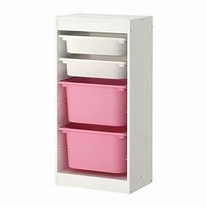Spielzeug Aufbewahrung Ikea : trofast aufbewahrung mit boxen wei rosa ikea ~ Michelbontemps.com Haus und Dekorationen