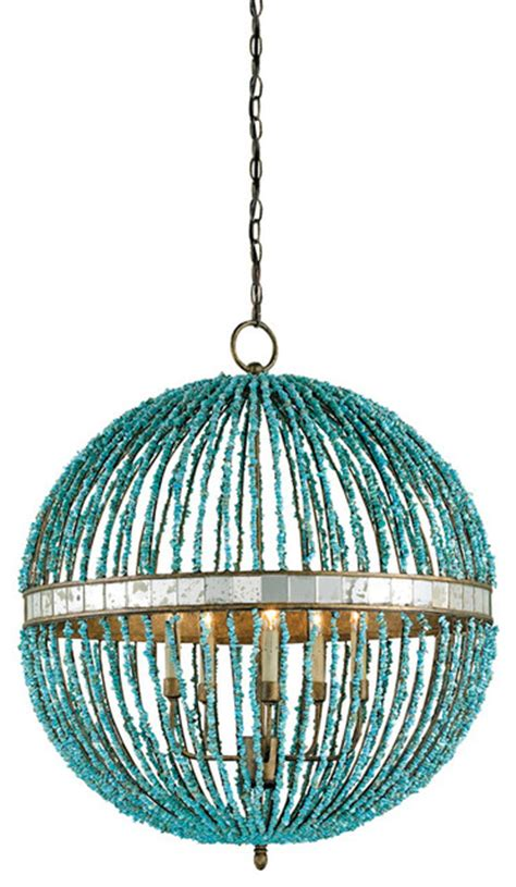Hawaiian Chandelier by Currey And Company Alberto Orb Chandelier Tropical Chandeliers