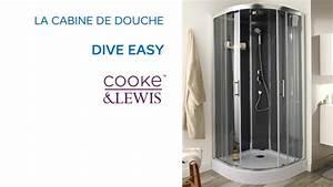 Douche salle de bain castorama for Porte de douche coulissante avec cooke and lewis meuble salle de bain