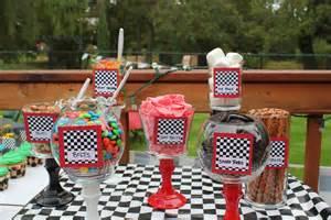 Race Car Themed Birthday Party Ideas