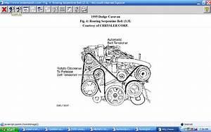 I Need A Serpentine Belt Diagram For A 1995 Dodge Caravan Se
