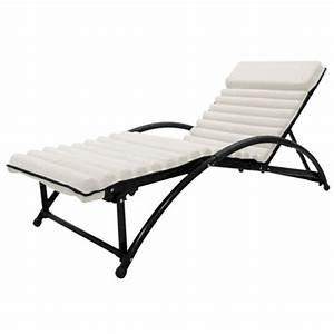 Bain De Soleil Bois Pas Cher : lit bain de soleil en textilene gym futon beige achat vente chaise longue lit bain de soleil ~ Teatrodelosmanantiales.com Idées de Décoration