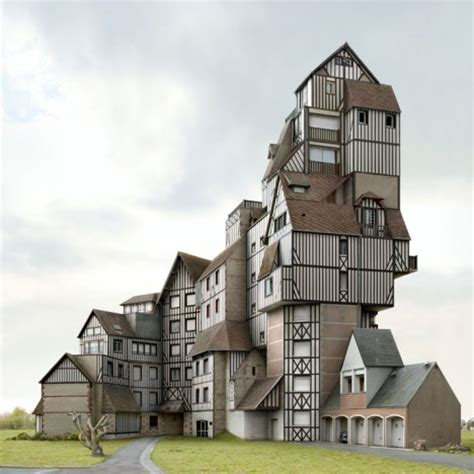 Architectural Fiction 35 Impossibly Surreal Structures