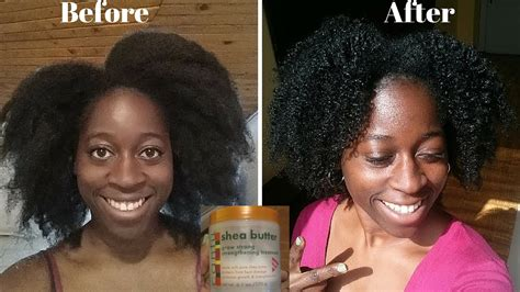 Cantu Hair Products Before and After