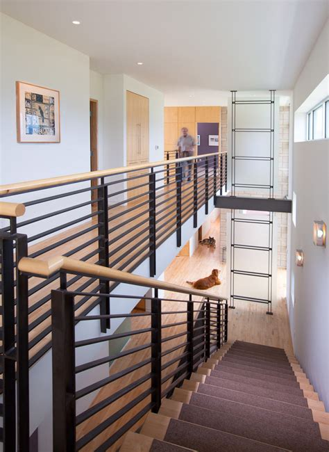 interior stair railing stair adorable modern stair railings to inspire your own