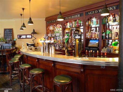 bureau scandinave vintage restaurant le publisher eric jovis côté maison