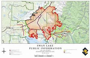 Swan Lake Fire Map  U2013 Aug  26