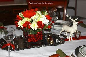 dining room table decorating ideas for christmas dining With christmas dining room table centerpieces