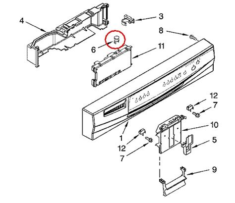 kenmore elite dishwasher model