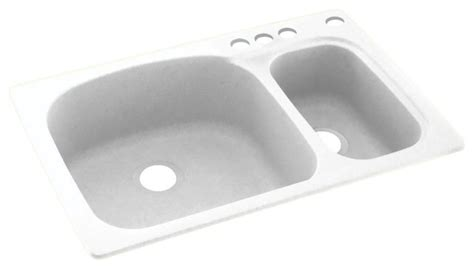 solid surface kitchen sinks swan 33x22x9 solid surface kitchen sink 4 hole kitchen
