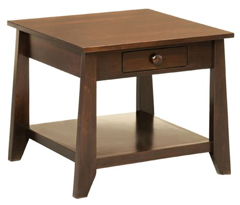 25227 by the yard furniture 051705 berwick end table amish furniture factory