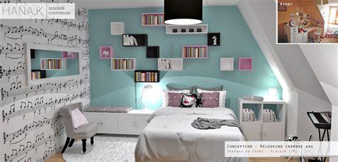 Deco Chambre Fille Ado Bleu