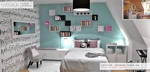 chambre de jeune fille musicienne With chambre bleu pour fille